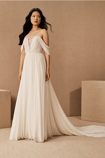 Wtoo by Watters Ryder Gown