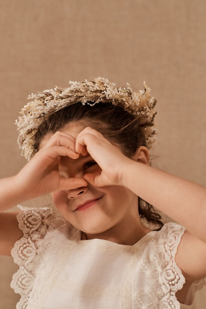 View larger image of Rylie Flower Girl Crown