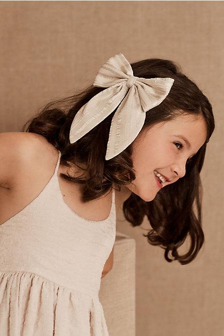 Suzette Flower Girl Bow