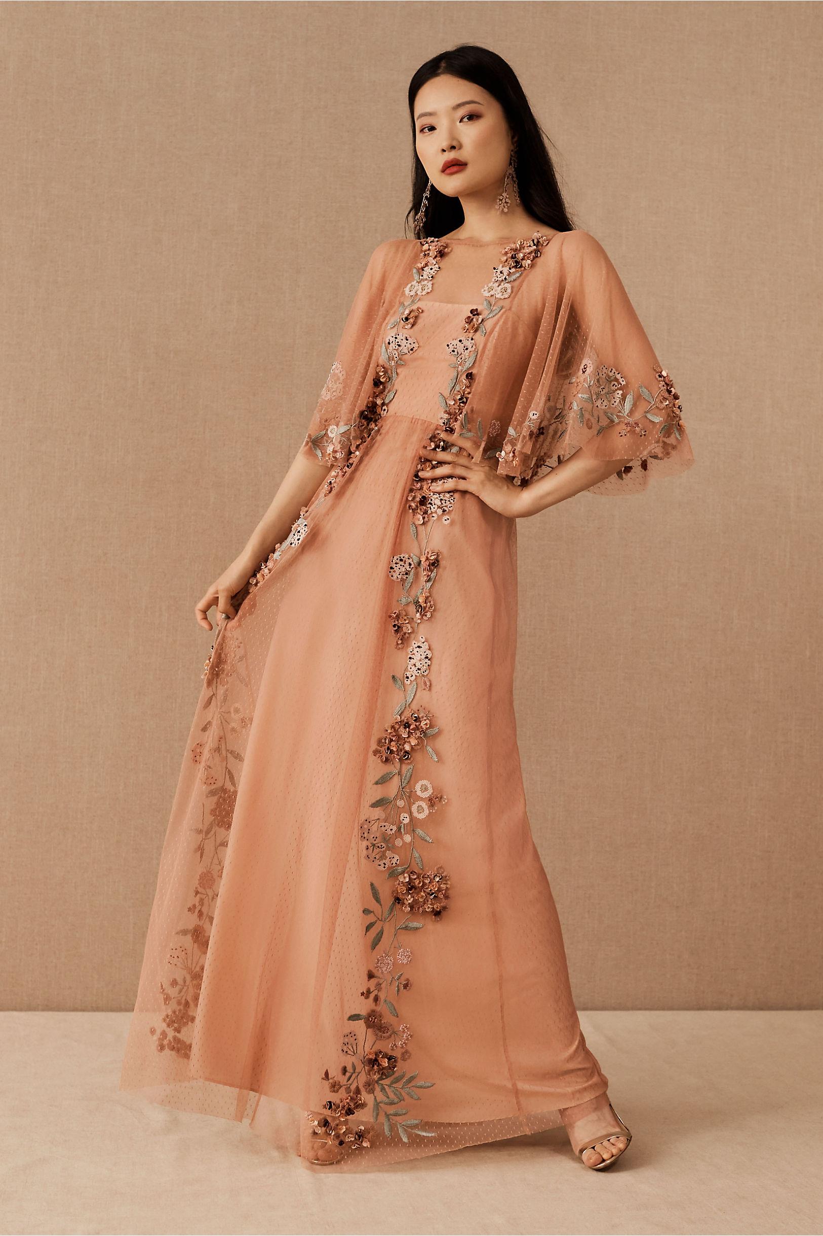 70s Sequin Dresses, Disco Dresses BHLDN Isabela DressSize Guide Video  AT vintagedancer.com