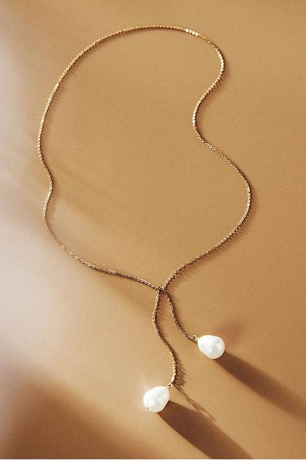 Huston Lariat Necklace