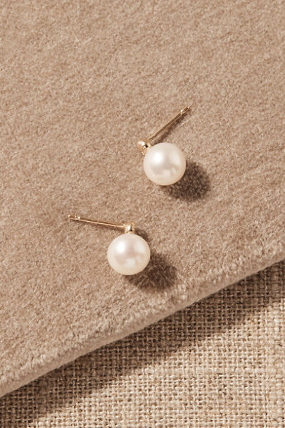 View larger image of Tieghan White Topaz & 14k Gold Earrings