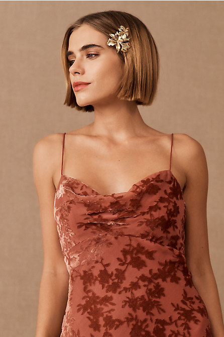 Jenny Yoo Rory Velvet Dress