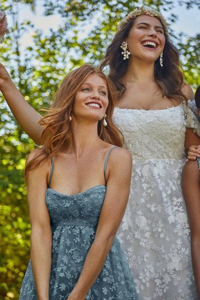 View larger image of Isadora Organza Midi Dress