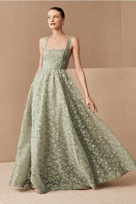 Phoebe Organza Maxi Dress