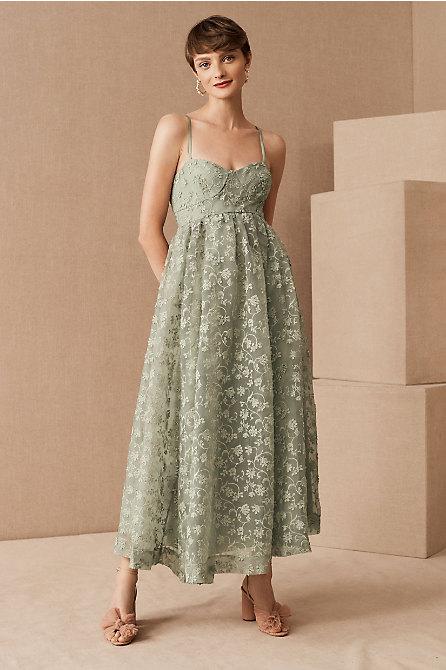 Isadora Organza Midi Dress