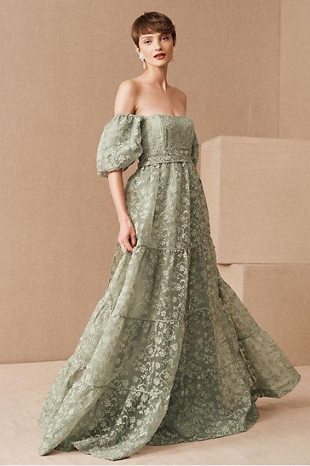 Beatrice Organza Maxi Dress