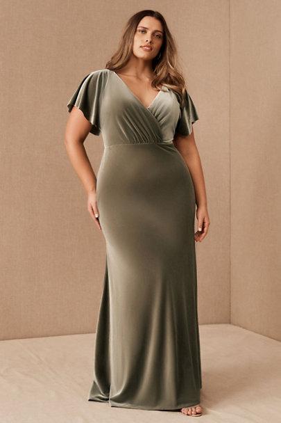 View larger image of Jenny Yoo Ellis Velvet Open Back Dress