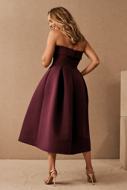 View larger image of Amsale Russo Midi Dress