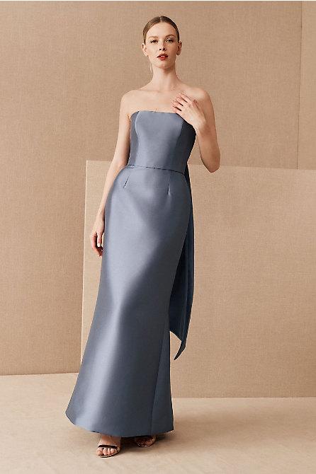 Amsale Shera Strapless Dress
