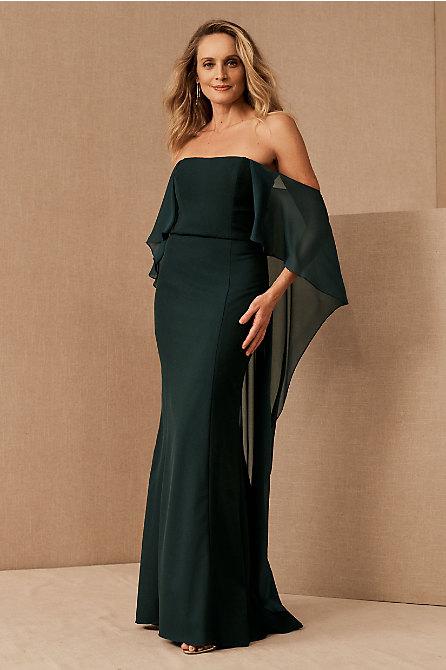 Amsale Everly Off-the-Shoulder Dress
