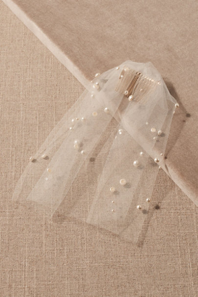View larger image of Twigs & Honey Marolize Birdcage Veil