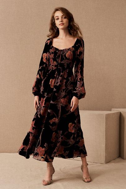 View larger image of Hutch Oona Floral Velvet Dress