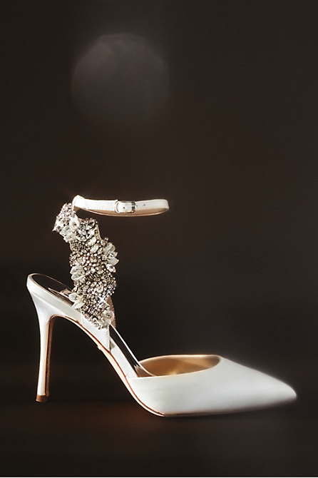 Badgley Mischka Blanca Heels