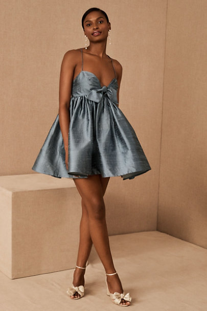 View larger image of Watters Pixie Silk Mini Dress