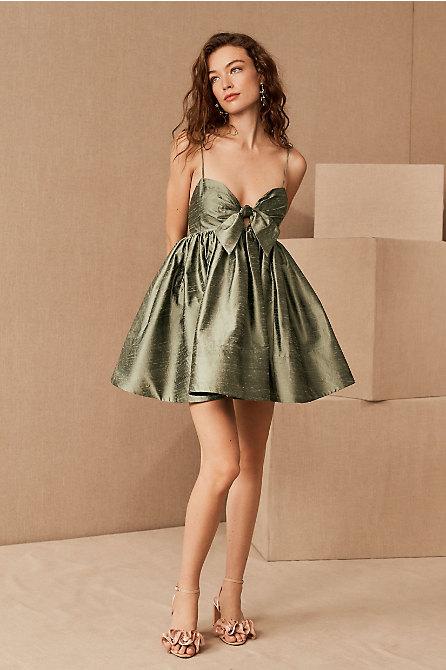 Watters Pixie Silk Mini Dress