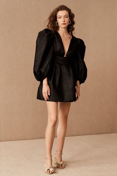 View larger image of Watters Meringue Silk Mini Dress