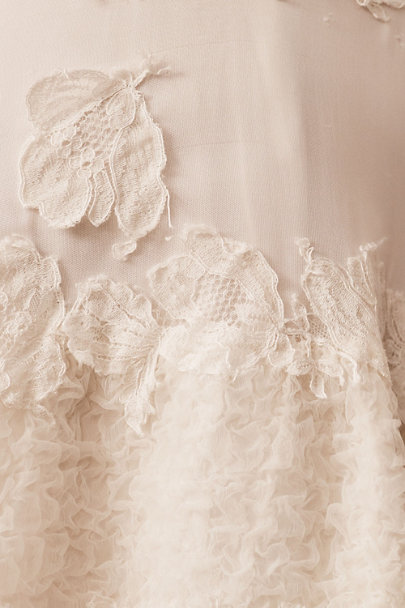 View larger image of Vintage 1950s Milanese Tiered Lace Gown