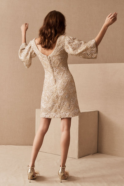 View larger image of Vintage 1960s Beaded Mini Dress