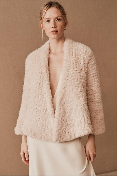 Bubish Valencia Faux Fur Jacket