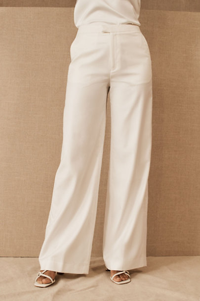 View larger image of Willowby by Watters Sariah Top & The Tailory New York x BHLDN Joanie Suit Pant