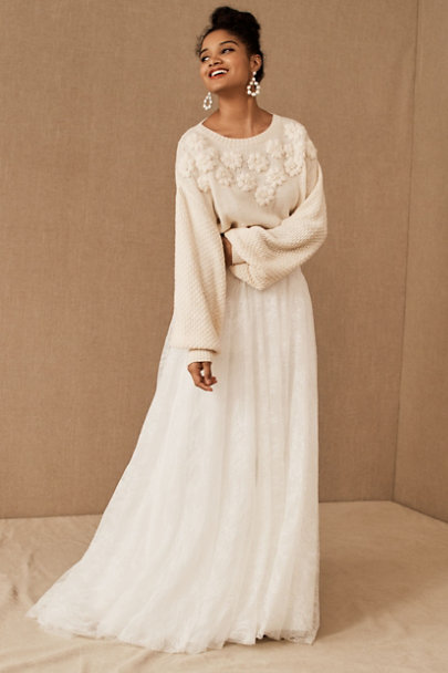 View larger image of BHLDN Sonya Sweater & Watters Dorota Skirt
