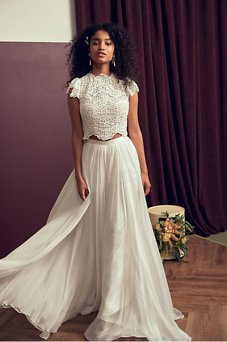 Willowby by Watters Sariah Top & Catherine Deane Delia Skirt