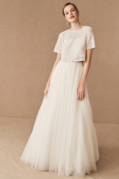 View larger image of BHLDN Shayla Topper & Jenny by Jenny Yoo Clarke Skirt