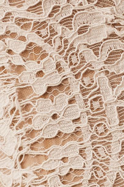 View larger image of Watters Odelia Bodysuit & Nouvelle Amsale Nandita Skirt
