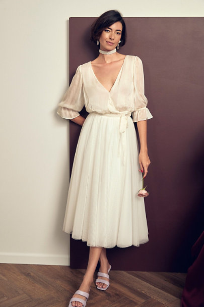 View larger image of Catherine Deane Teagan Top & Nouvelle Amsale Nandita Skirt