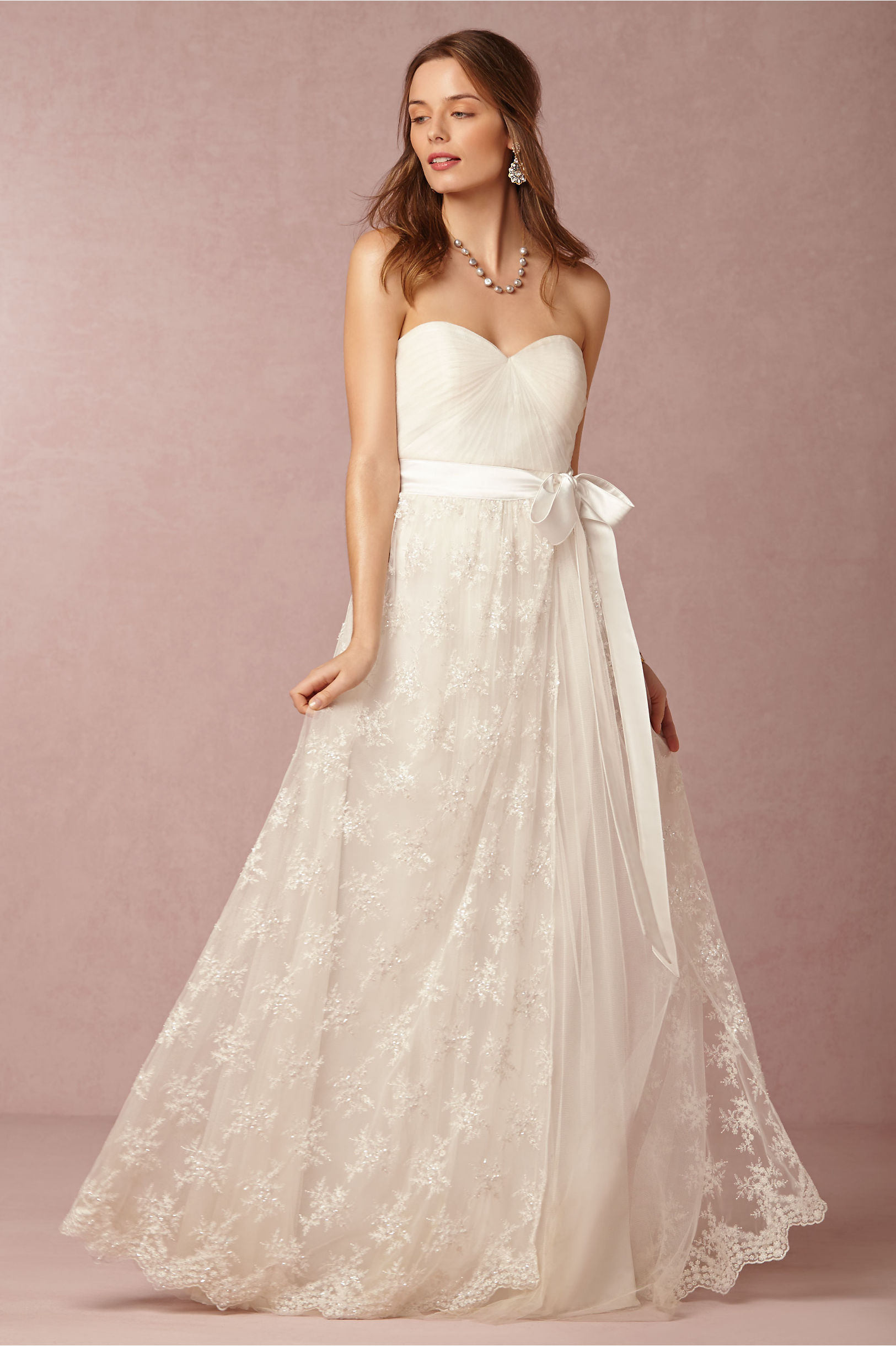 Julia Skirt & Annabelle Dress in Bride | BHLDN