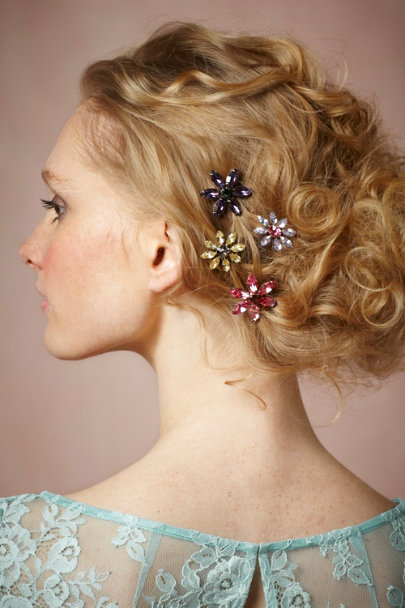 Debra Moreland Wildflower Hairpins | BHLDN