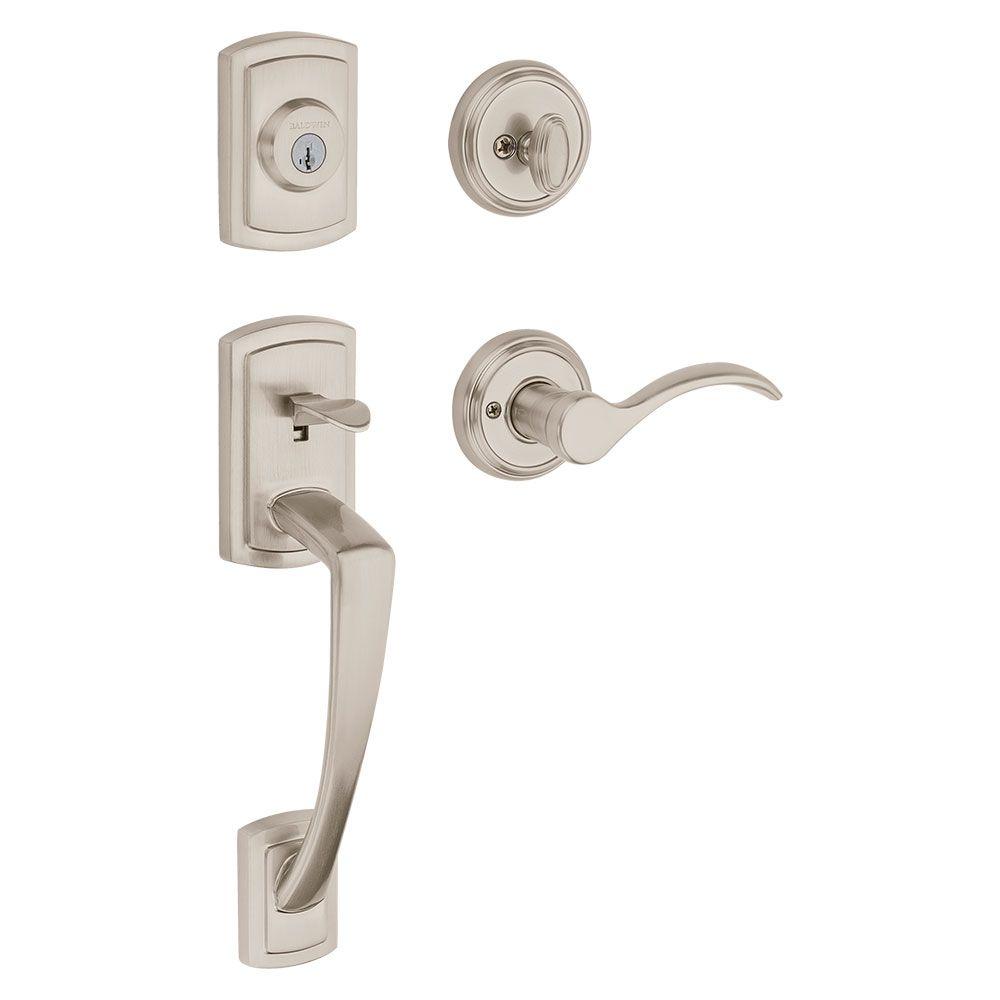 Remove Door Handleset Old Worn Locksets Detract From The Beauty