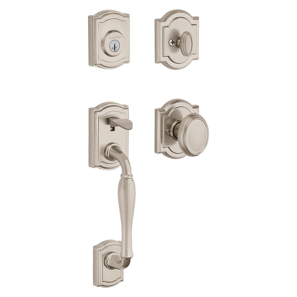 Door Knobs lockable door knobs images : Wesley Handleset with Carnaby Knob (180WYHXCYK 15 SMT)
