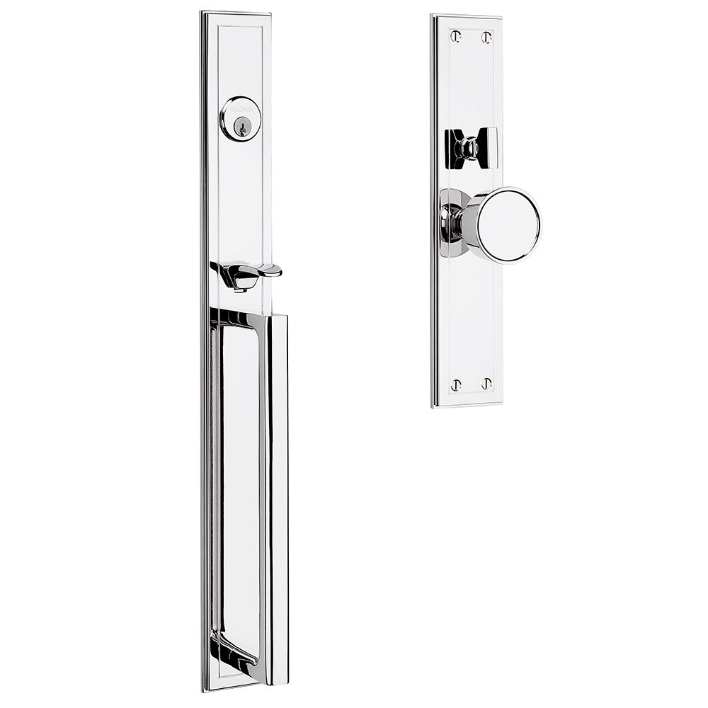 Hollywood Hills Mortise Handleset Trim