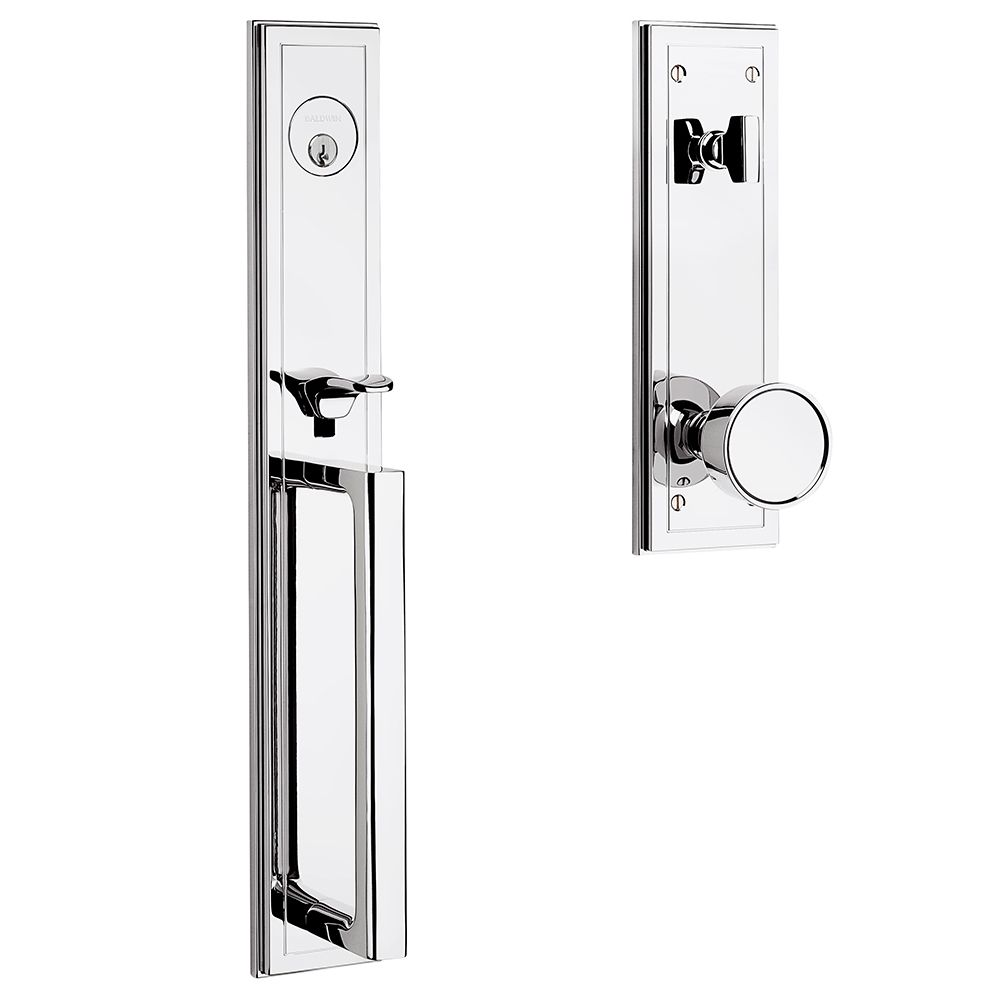 Hollywood Hills Full Escutcheon Handleset