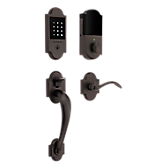 Boulder Touchscreen Z-Wave Smart Lock Handleset