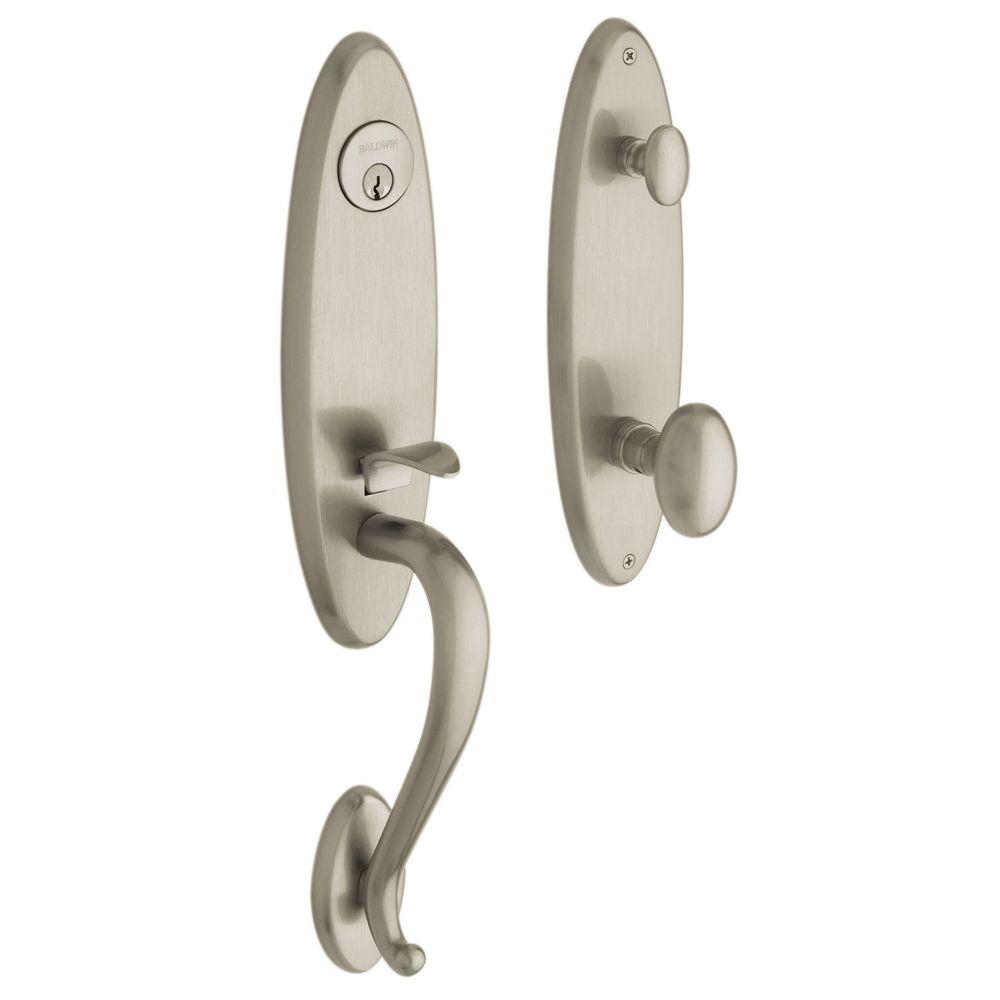 Blakely Handleset  85360 150 . Remove Baldwin Front Door Handle. Home Design Ideas