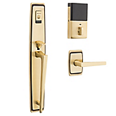 Evolved Palm Springs Full Escutcheon Handleset