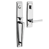 Palm Springs Full Escutcheon Handleset