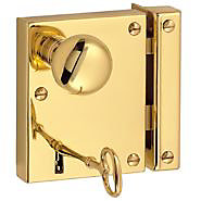 door locks. rim locks door o