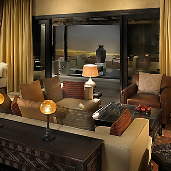 The Qasr Al Sarab Desert Resort by Anantara merges the sense of adventure with renowned luxury.