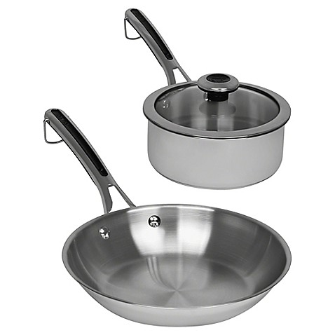 Revere 174 Copper Confidence Core Stainless Steel Frying Pan