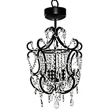 image of Poetic Wanderlust® by Tracy Porter® Cristal Remote Control Chandelier w/ Cascading Crystals