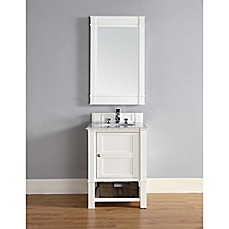 image of James Martin Furniture Madison 26-Inch Single Vanity Collection in Cottage White