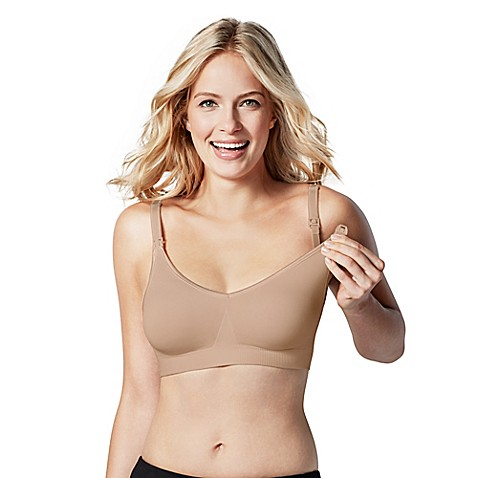 Bravado Designs Body Silk Seamless Nursing Bra in Butterscotch