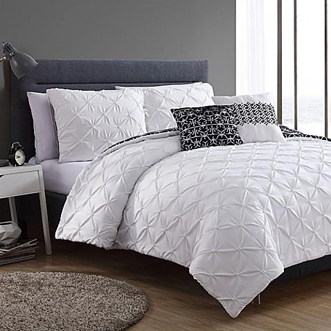 Buy Vcny Zenroah 4 Piece Twin Xl Comforter Set In Black