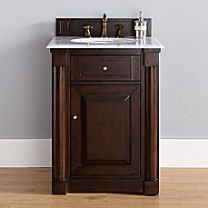 image of New Haven Single Vanity with Marble Top