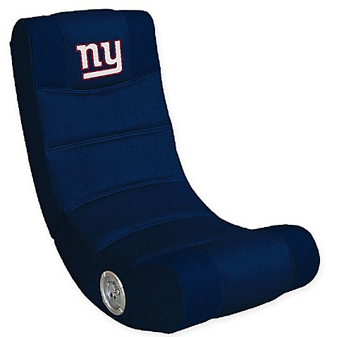 NFL New York Giants Gaming Chair With Bluetoothu0026reg;