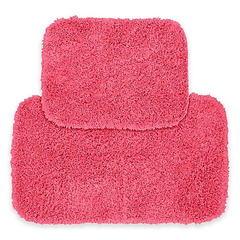 buy jazz 2 piece bath rug set in pink from bed bath beyond. Black Bedroom Furniture Sets. Home Design Ideas